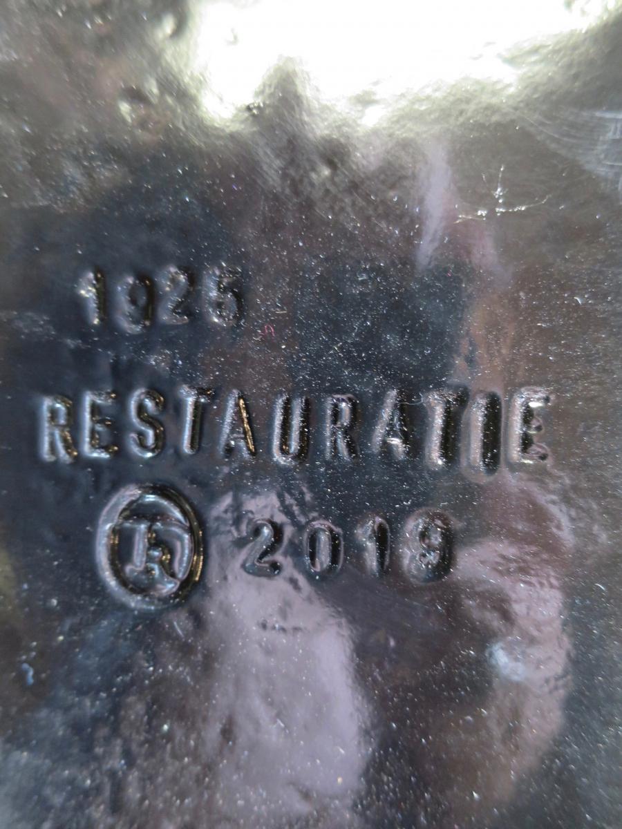 15. Restauratie belettering Coop. Zuivelfabriek Alg. Belang 1925 - Ruinerwold