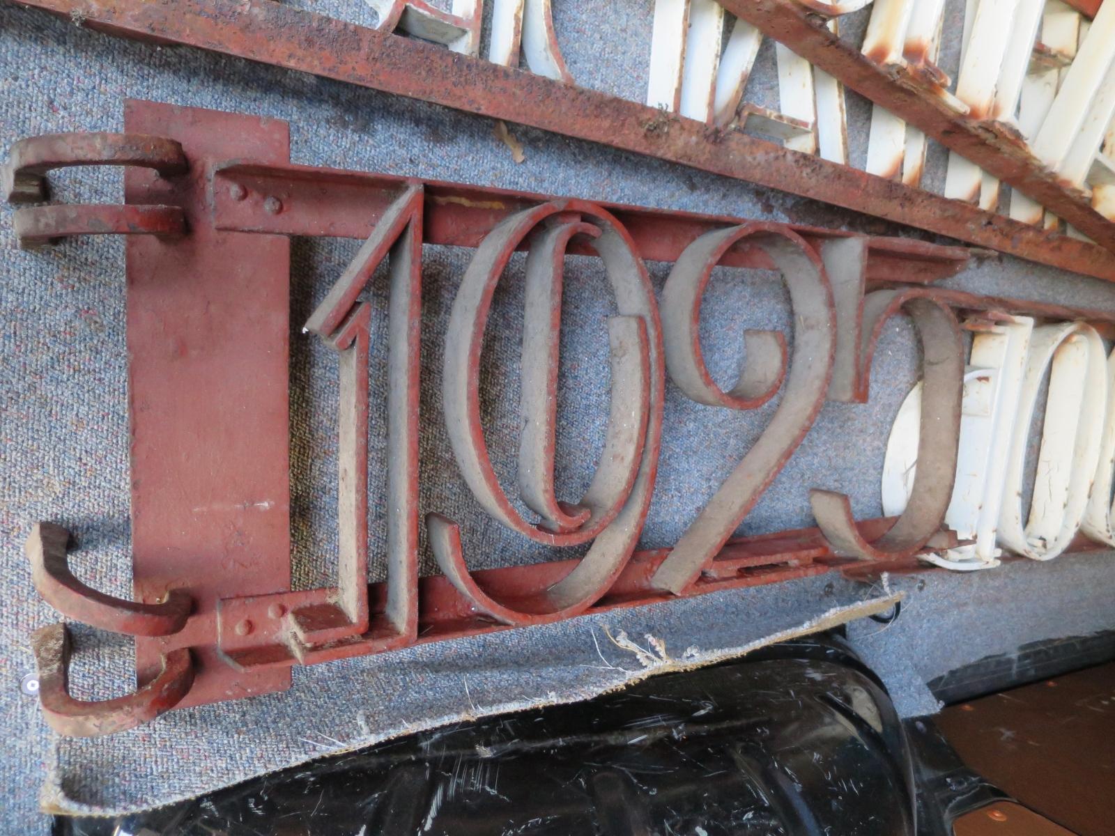 3. Restauratie belettering Coop. Zuivelfabriek Alg. Belang 1925 - Ruinerwold
